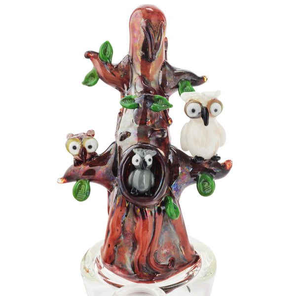 "Empire Glassworks ""Hootie & Friends"" Nano Rig Water Pipe"