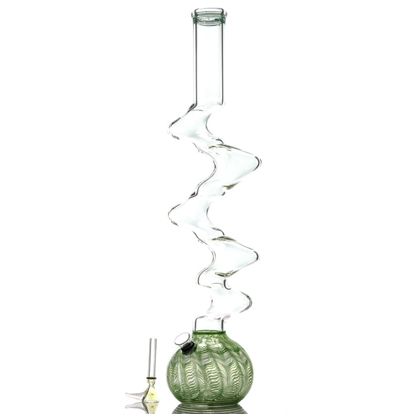 "UPC 20"" Wrap & Rake 5 Zong Pull-Stem Water Pipe, CaliConnected Online Smoke Shop"