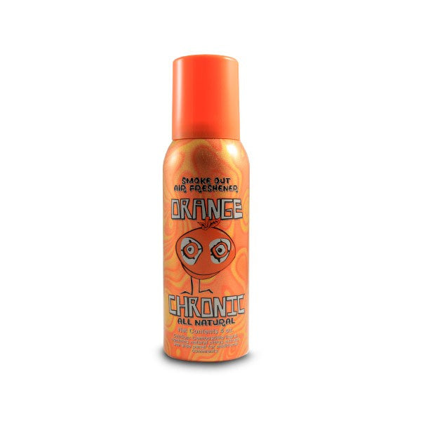 Orange Chronic Smoke Out Spray - CaliConnected - Affordable wax and dry herb vaporizers eRigs & eNails, high quality glass bongs, cheap water pipes, wax concentrate dab rigs and unique smoking accessories at the best online smoke shop - CaliConnected Online Headshop