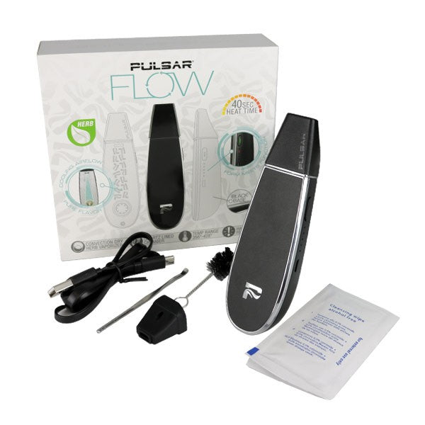 Pulsar Flow - Handheld Dry Herb Vaporizer 🌿 - Affordable vaporizers and quality glass bongs, water pipes, dab rigs and more at the best online headshop - CaliConnected