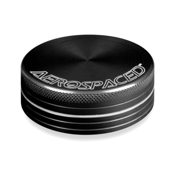 "Aerospaced 2.5"" 2-Piece Grinder - Affordable vaporizers and quality glass bongs, water pipes, dab rigs and more at the best online headshop - CaliConnected"