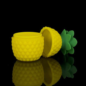 ELEV8 Pineapple Silicone Wax Container🍍 - CaliConnected - Affordable wax and dry herb vaporizers eRigs & eNails, high quality glass bongs, cheap water pipes, wax concentrate dab rigs and unique smoking accessories at the best online smoke shop - CaliConnected Online Headshop