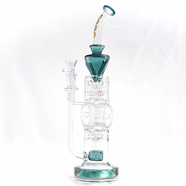 "BoroTech 13"" Swiss Cheeze Tunnel Recycler 🌿🍯"