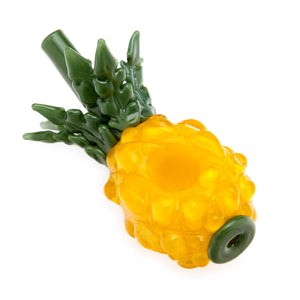 CaliConnected Pineapple Steamroller Hand Pipe 🍍