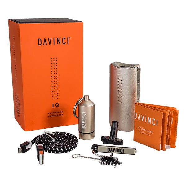 DaVinci IQ - Portable Dry Herb Vaporizer 🌿 - CaliConnected - Affordable wax and dry herb vaporizers eRigs & eNails, high quality glass bongs, cheap water pipes, wax concentrate dab rigs and unique smoking accessories at the best online smoke shop - CaliConnected Online Headshop
