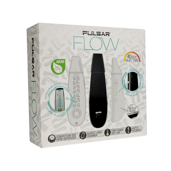 Pulsar Flow - Handheld Dry Herb Vaporizer 🌿 - CaliConnected - Affordable wax and dry herb vaporizers eRigs & eNails, high quality glass bongs, cheap water pipes, wax concentrate dab rigs and unique smoking accessories at the best online smoke shop - CaliConnected Online Headshop