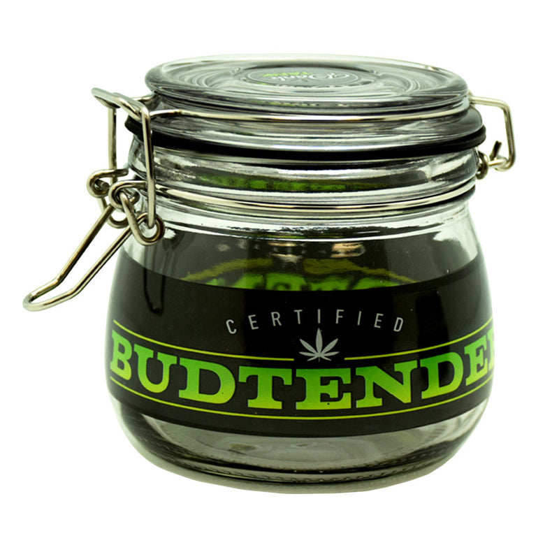Dank Tank Airtight Glass Storage Jar - Budtender