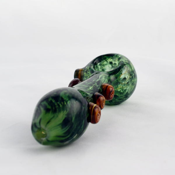 Rainforest Tree Spoon Pipe - CaliConnected - Affordable wax and dry herb vaporizers eRigs & eNails, high quality glass bongs, cheap water pipes, wax concentrate dab rigs and unique smoking accessories at the best online smoke shop - CaliConnected Online Headshop