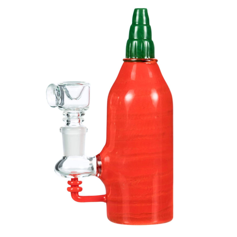 Empire Glassworks Sriracha Bottle Bong