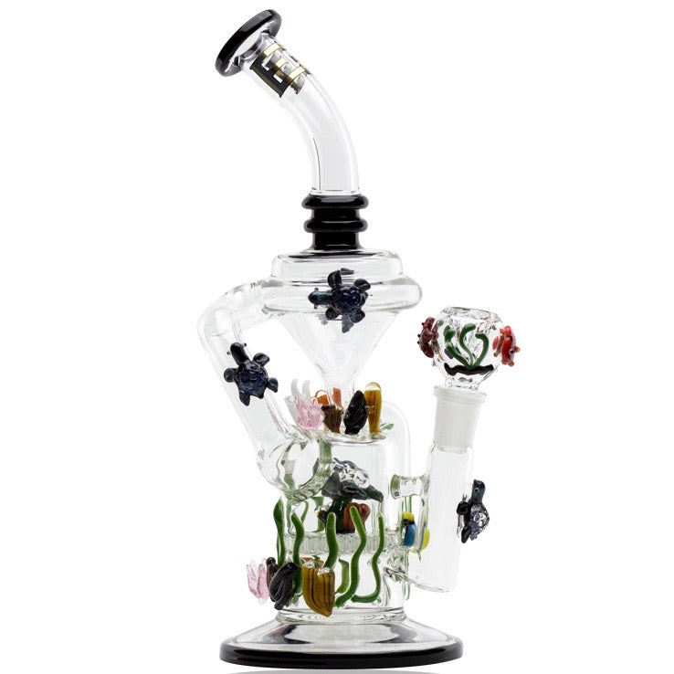 Empire Glassworks California Current Recycler Bong