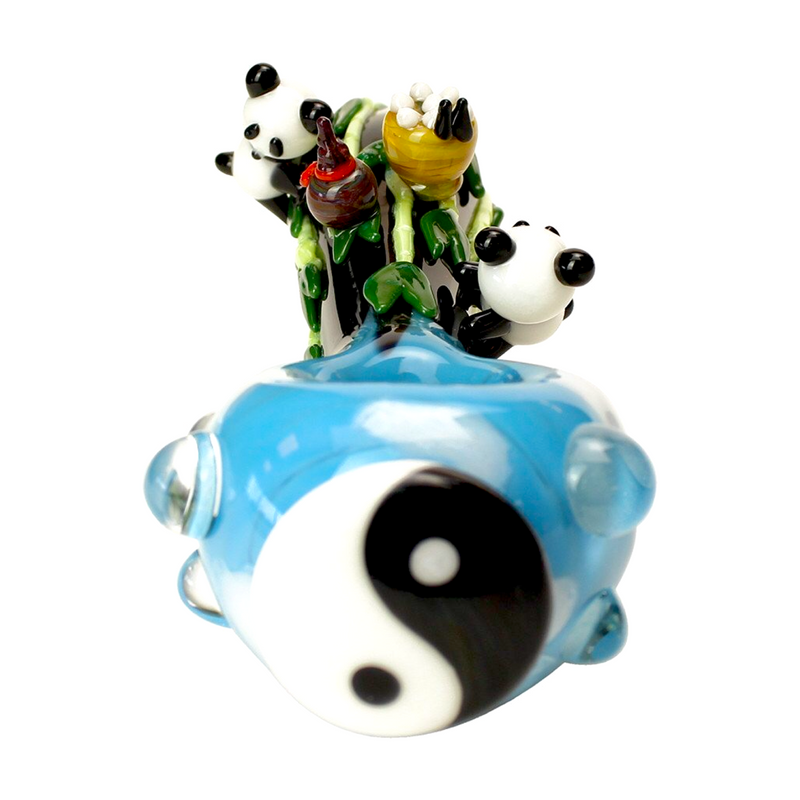 "Empire Glassworks ""Hungry Panda"" Hand Pipe 🐼"