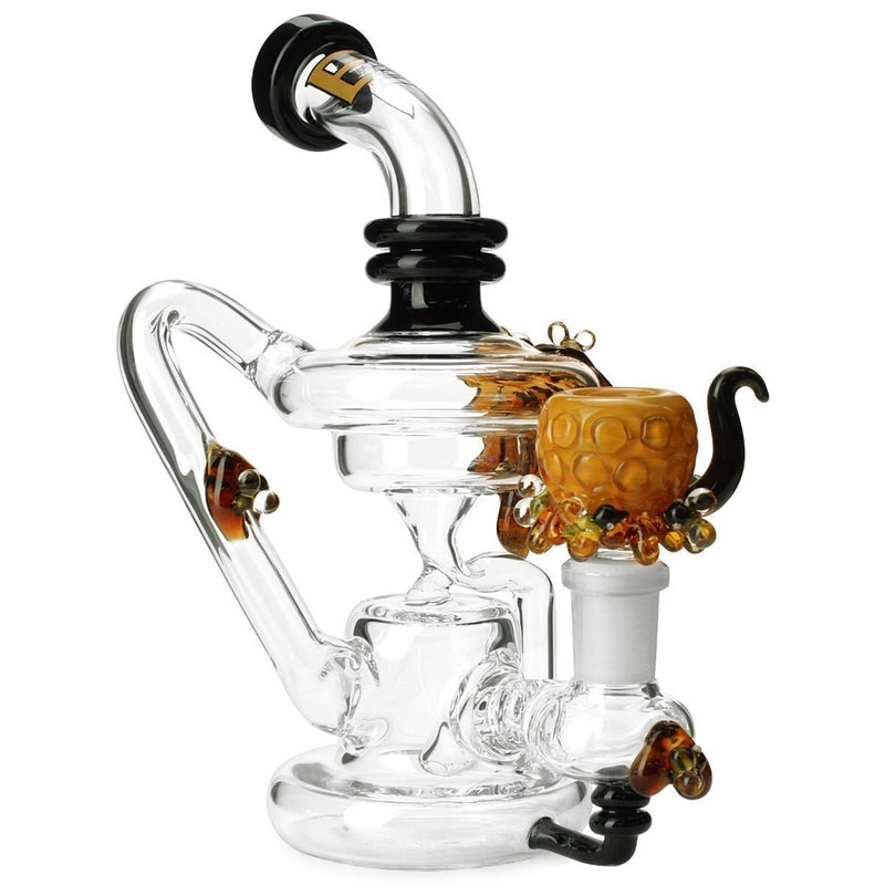 Empire Glassworks Mini Beehive Recycler Bong 🐝