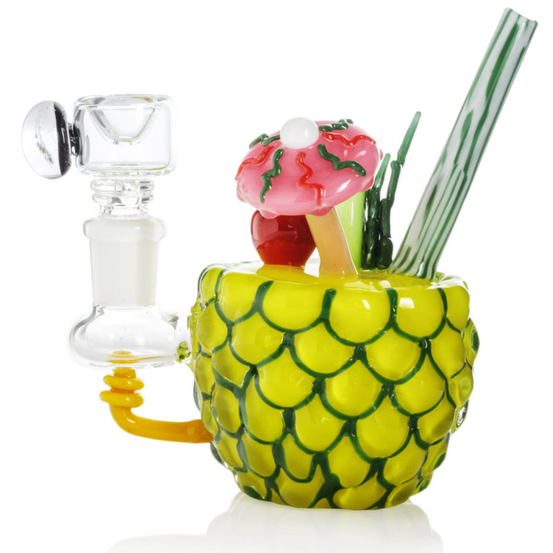 "Empire Glassworks ""Pineapple Paradise"" Mini Bong 🌴🍍"