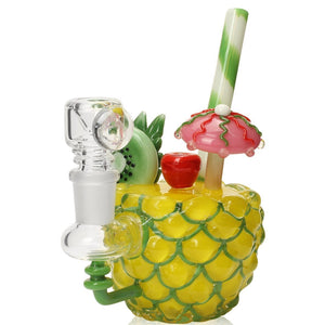 "Empire Glassworks ""Pineapple Paradise"" Water Pipe🌴🍍"