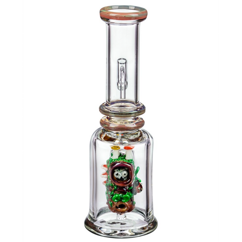 "Empire Glassworks ""Renew the Redwoods"" UV Mini Beaker Bong 🌲"
