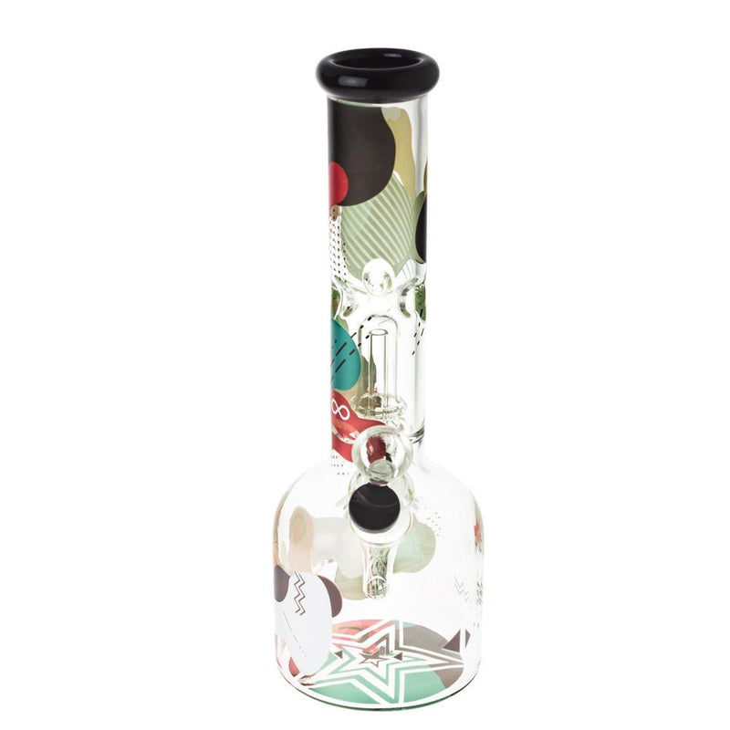 "Famous X Aquarius 12"" Glass Beaker Bong"