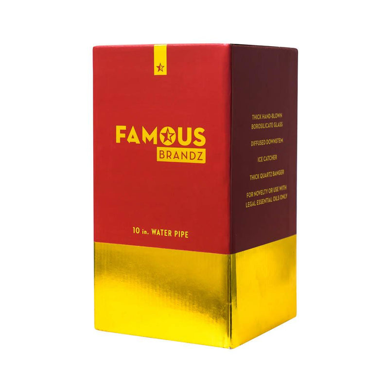 "Famous X Surrender 10"" Straight Tube Rig"