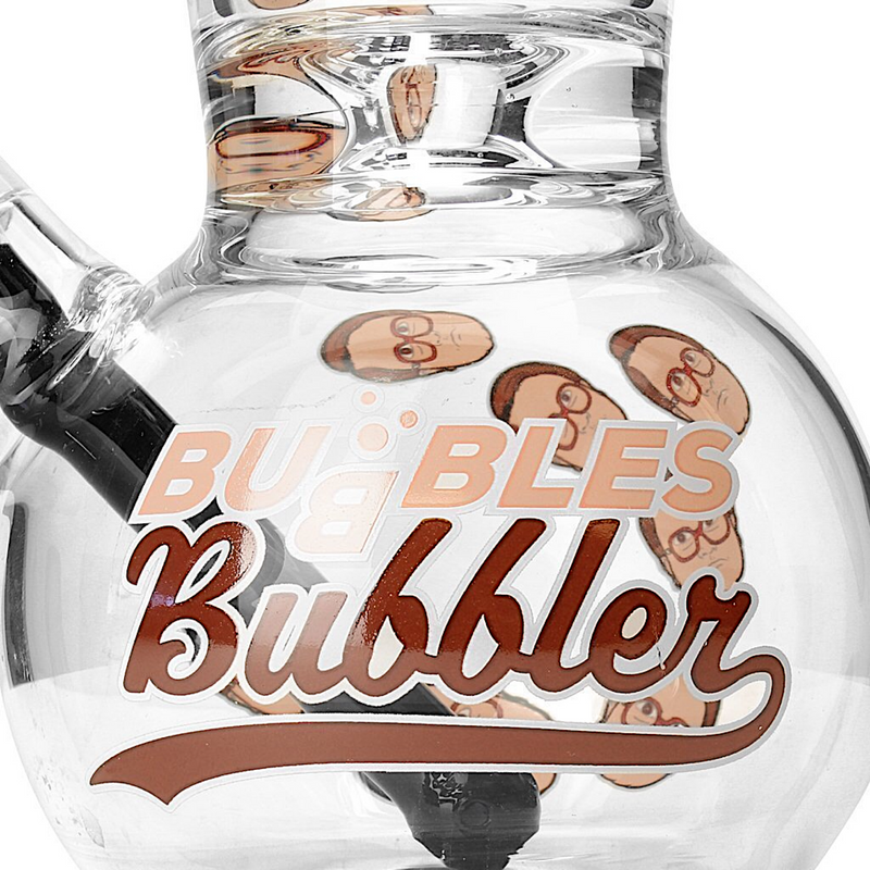 Trailer Park Boys Bubbles Heads Bubbler Bong