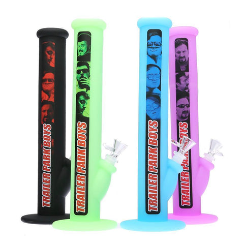 "Famous Brandz x Trailer Park Boys - 14"" Silicone Silibong Water Pipe"