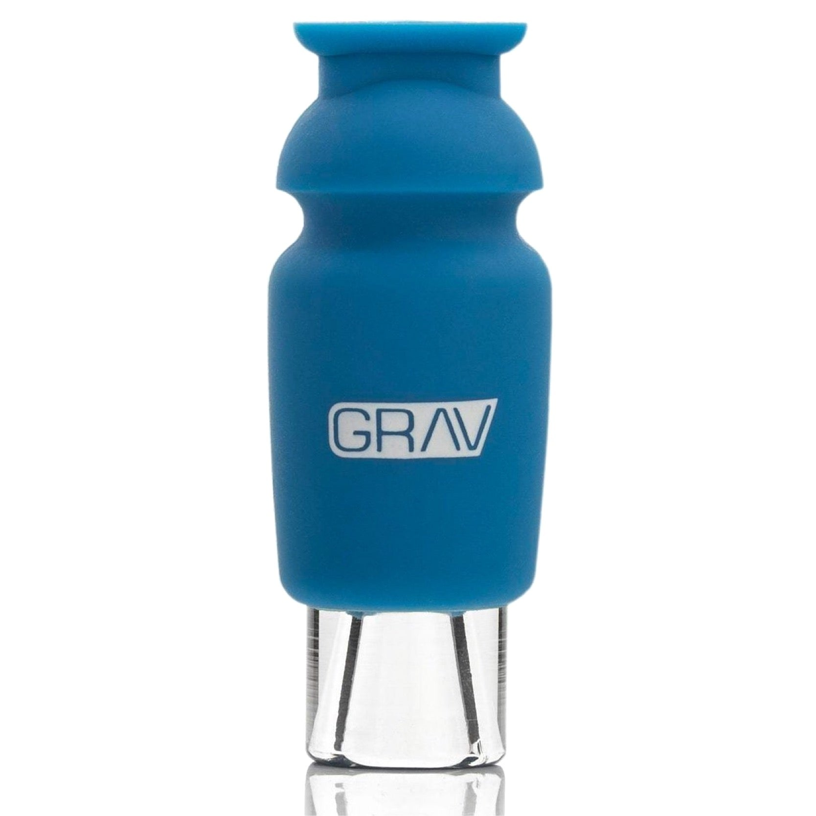 Grav® Silicone Capped Glass Crutch Filter Tip