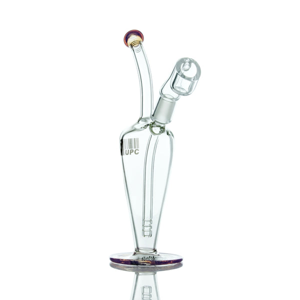"UPC 8"" Tear Drop Bubbler Concentrate Rig - 14mm Joint - Affordable vaporizers and quality glass bongs, water pipes, dab rigs and more at the best online headshop - CaliConnected"
