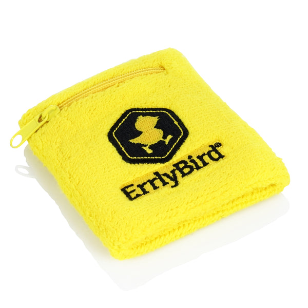 ErrlyBird Dabsketball Stash Pocket Wristband - Multiple Designs!
