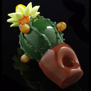 "Glassheads ""Succulent Cactus Planter"" Spoon Pipe 🌵"
