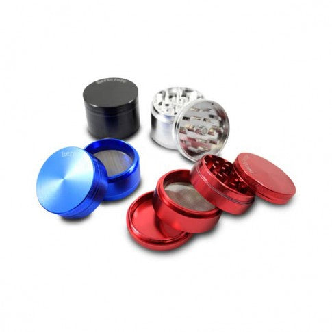 Herbivore Medium 4-Piece Grinder - CaliConnected - Affordable wax and dry herb vaporizers eRigs & eNails, high quality glass bongs, cheap water pipes, wax concentrate dab rigs and unique smoking accessories at the best online smoke shop - CaliConnected Online Headshop