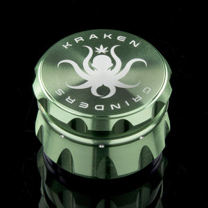 Kraken 4-piece Diamond Ridge Herb Grinder - CaliConnected - Affordable wax and dry herb vaporizers eRigs & eNails, high quality glass bongs, cheap water pipes, wax concentrate dab rigs and unique smoking accessories at the best online smoke shop - CaliConnected Online Headshop