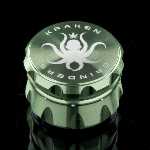 Kraken 4-piece Diamond Ridge Herb Grinder, CaliConnected Online Smoke Shop