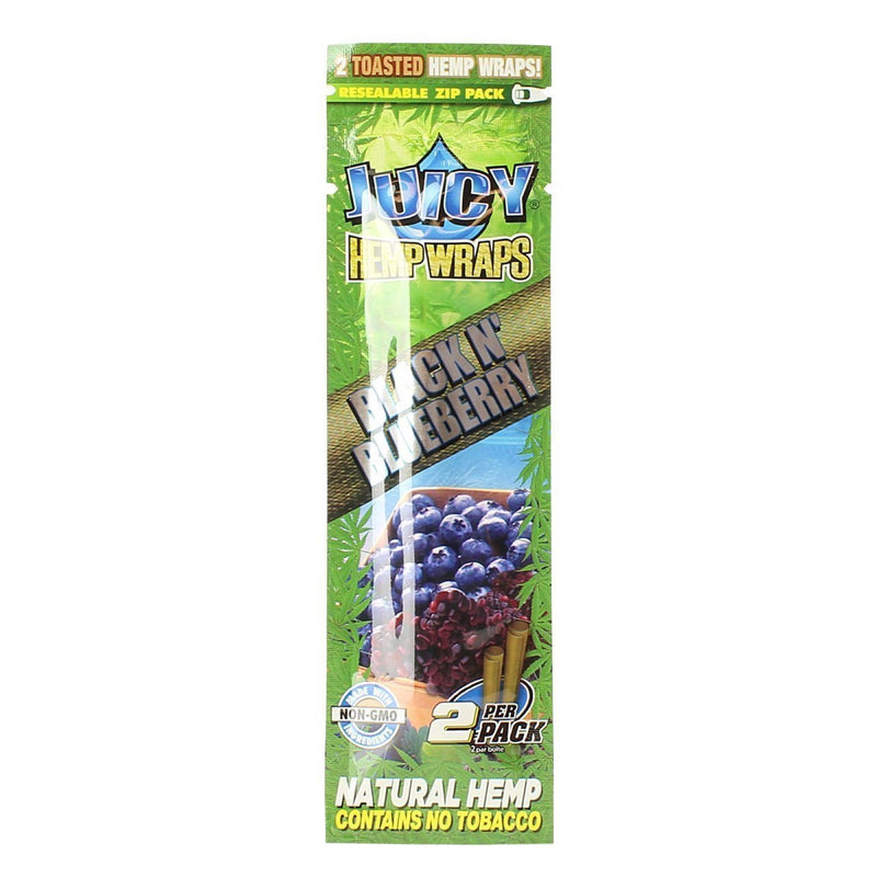 Juicy Jay's Natural Hemp Flavored Blunt Wraps (2-Pack)