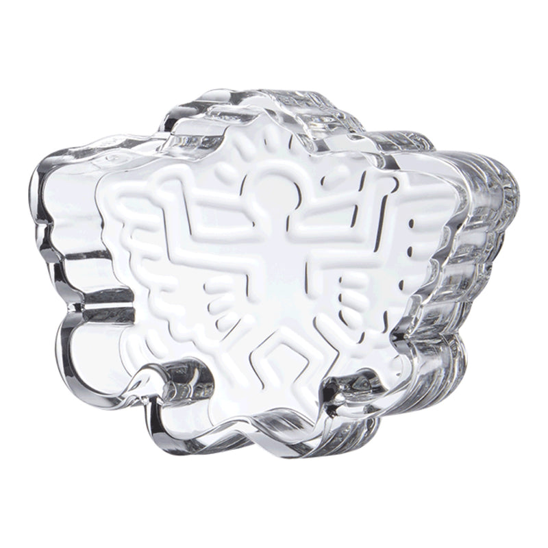 "K. Haring ""Angel"" Crystal Glass Catchall"