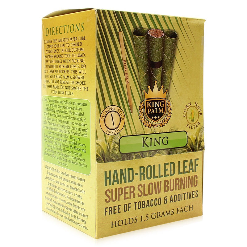 King Palm King Size Pre-Rolled Leaf Wraps