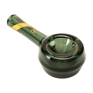 "Marley Natural 4.5"" Smoked Glass Spoon Pipe"