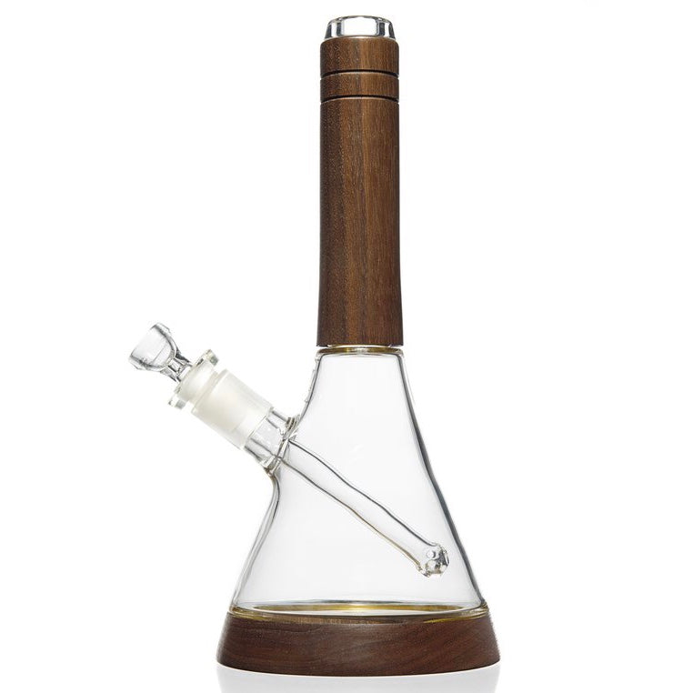 Marley Natural Walnut Wood Beaker Bong