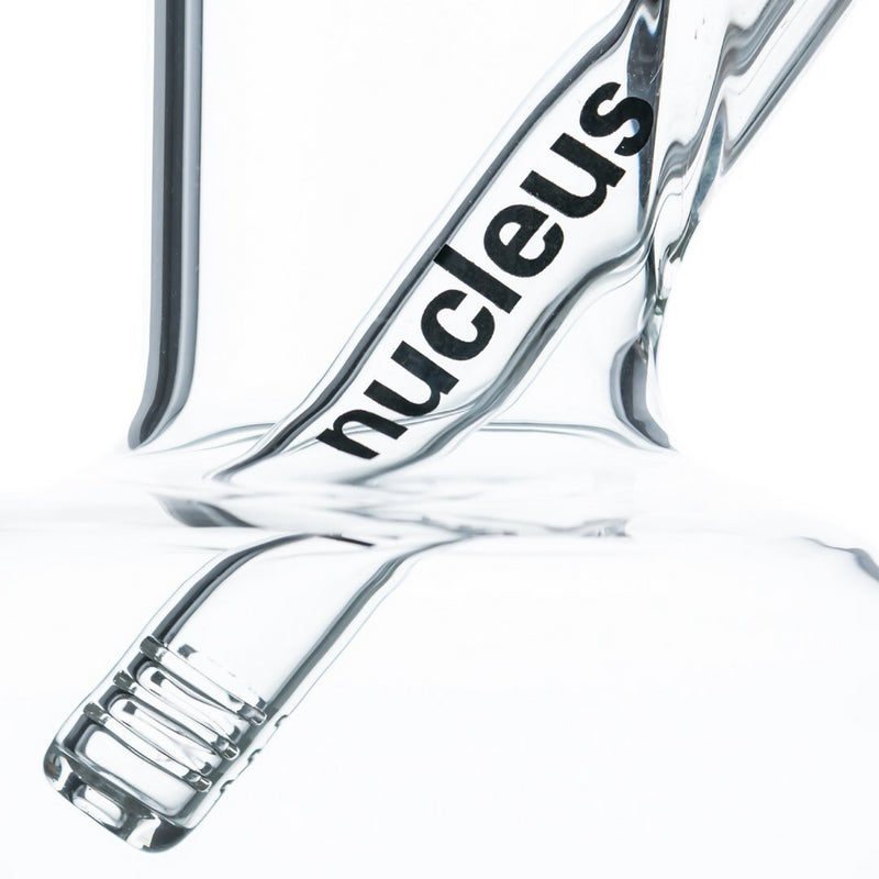 "Nucleus 12"" Clear Glass Buoy Base Water Pipe"