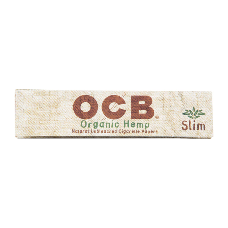 OCB King Slim Unbleached Organic Hemp Rolling Papers