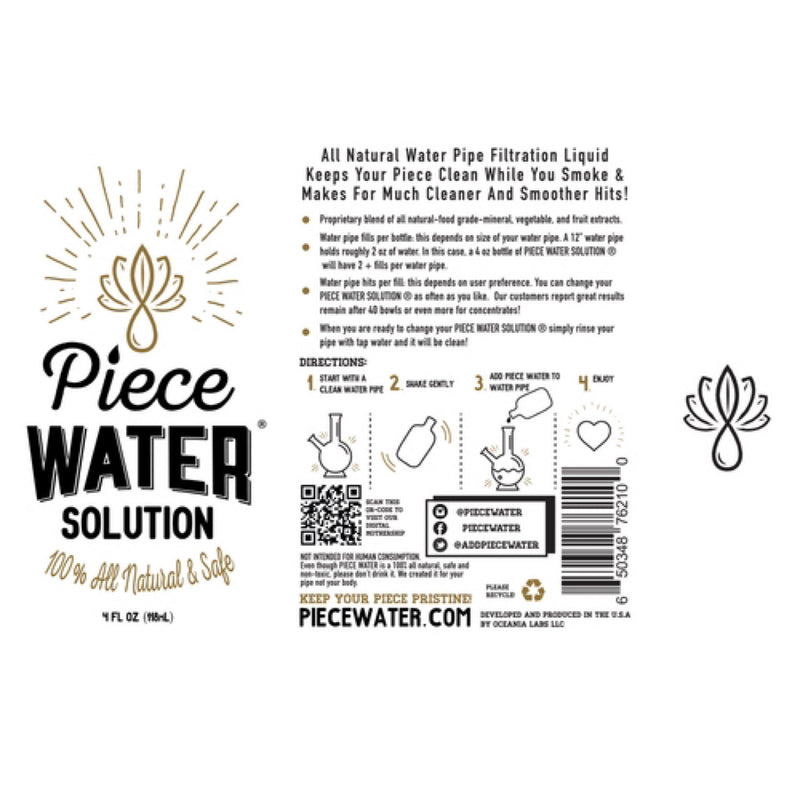 Piece Water® Solution Mini/Rig Size