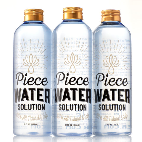 Piece Water® Solution: Bong Water Alternative