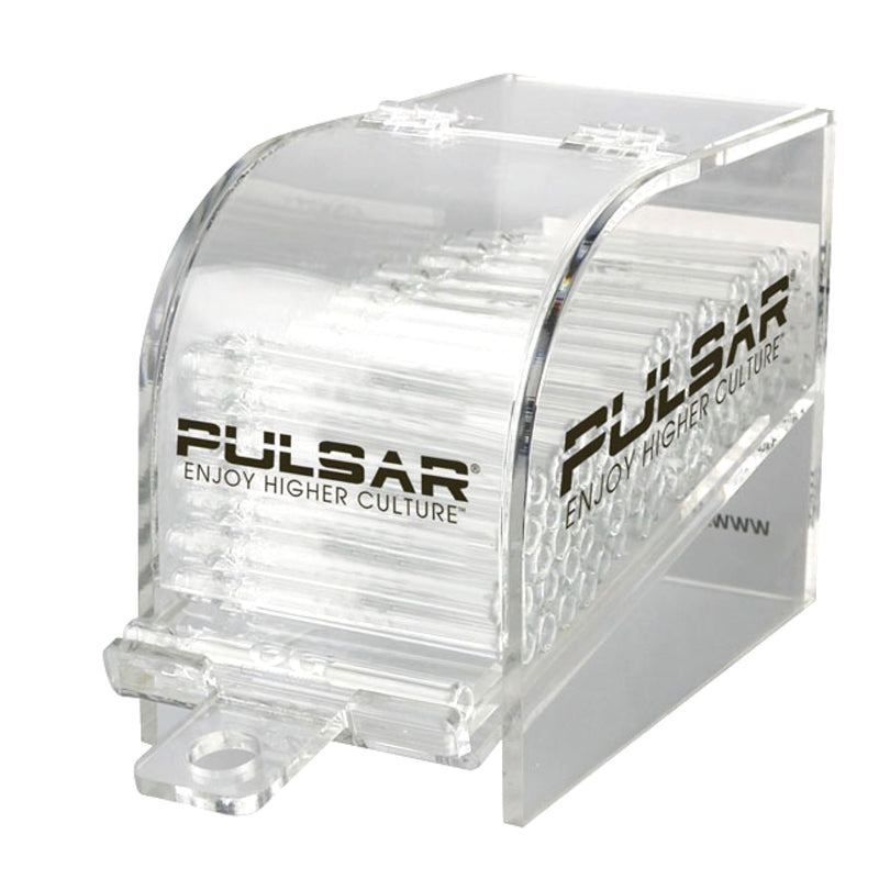 "Pulsar 4.2"" Clear Glass Taster Pipe"