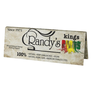 Randy's King Roots - XL Organic Hemp Wired Rolling Papers