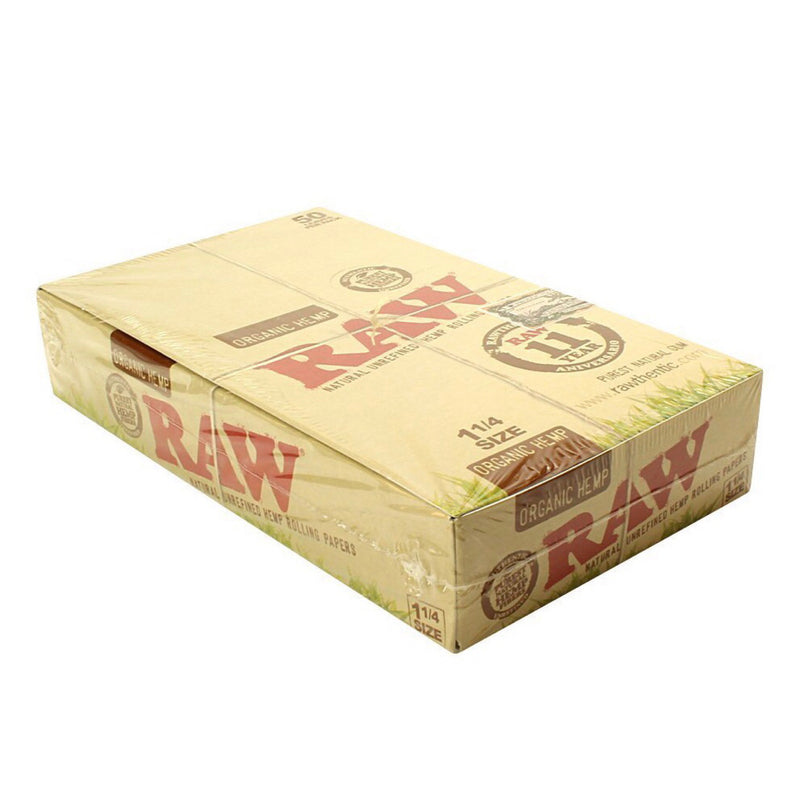 "Raw® Organic Hemp 1.25"" Rolling Papers"