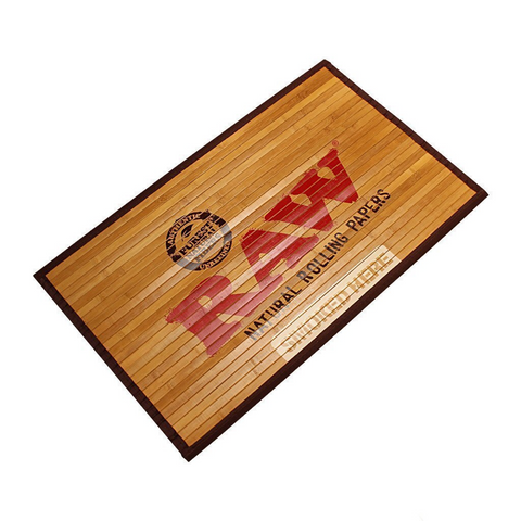 Raw® Rolling Papers Bamboo Door Mat