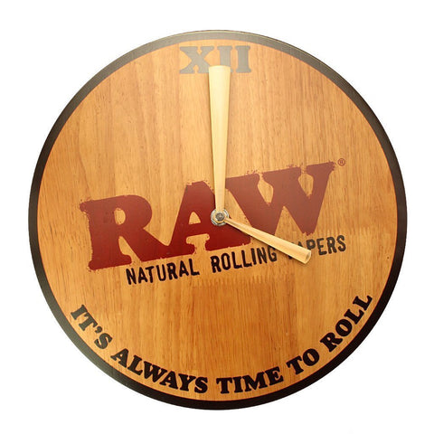 Raw® Rolling Papers Wall Clock