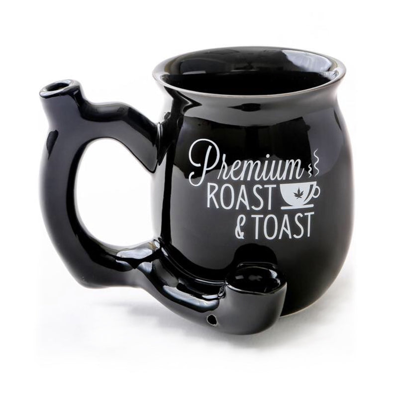 Roast & Toast Small Coffee Mug Pipe