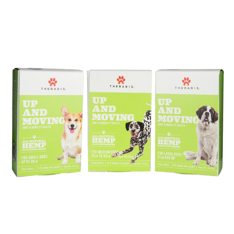Therabis Up & Moving CBD Powder for Dogs 🐶