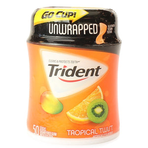 Trident Tropical Twist Gum Stash Can