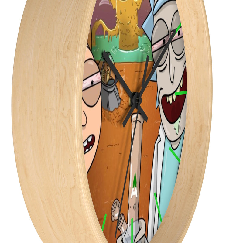 "Rick & Morty ""Space Beach"" Wall Clock"