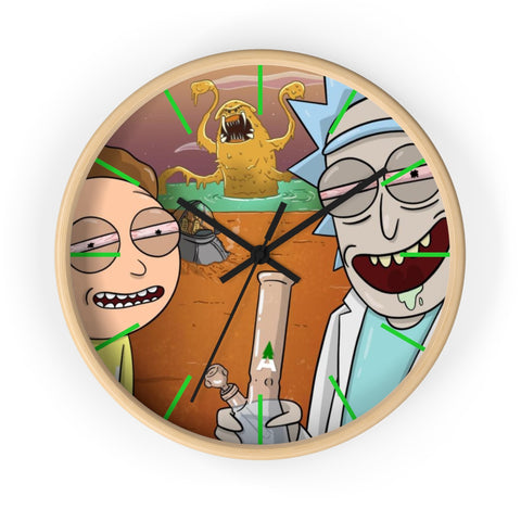 CaliConnected Online Smoke Shop - Art Wall clock