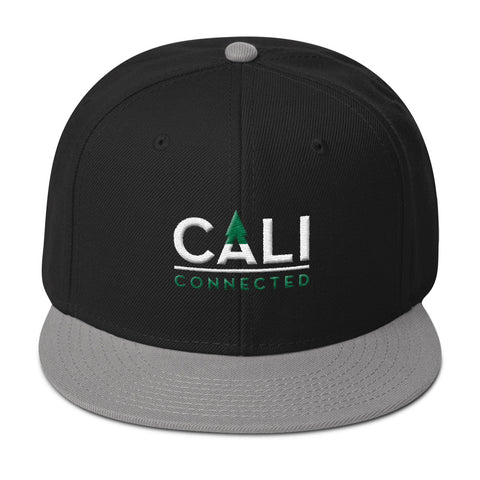 CaliConnected Snapback Hat, CaliConnected Online Smoke Shop